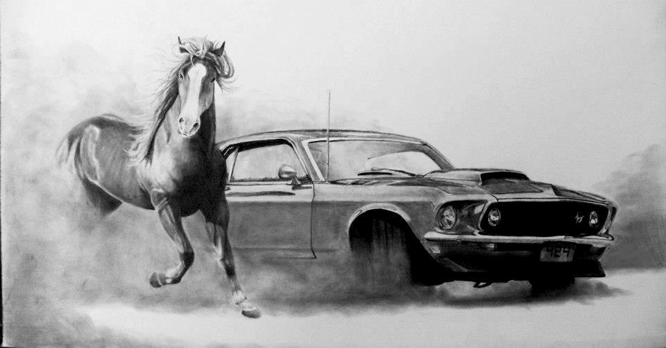 Free Wallpaper For Galaxy S4 Cars Dodge Black And White Car Drawings 30 Cool Hd Wallpaper