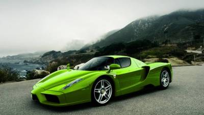 Green And Black Ferrari Wallpaper 6 Background ...