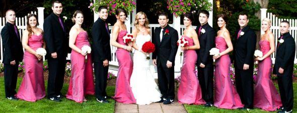 Pink And Black Wedding Themes Gallery - Wedding Decoration Ideas