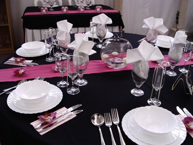 Pink And Black Wedding Theme 28 Widescreen Wallpaper