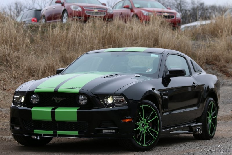 Free Wallpaper For Galaxy S4 Cars Dodge Green And Black Mustang 2 Free Wallpaper