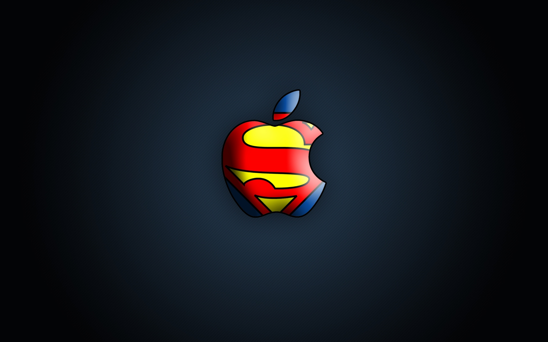 Download Wallpaper Superman 3d Apple Logo Wallpapers Hd A26 Hd Desktop Wallpapers 4k Hd