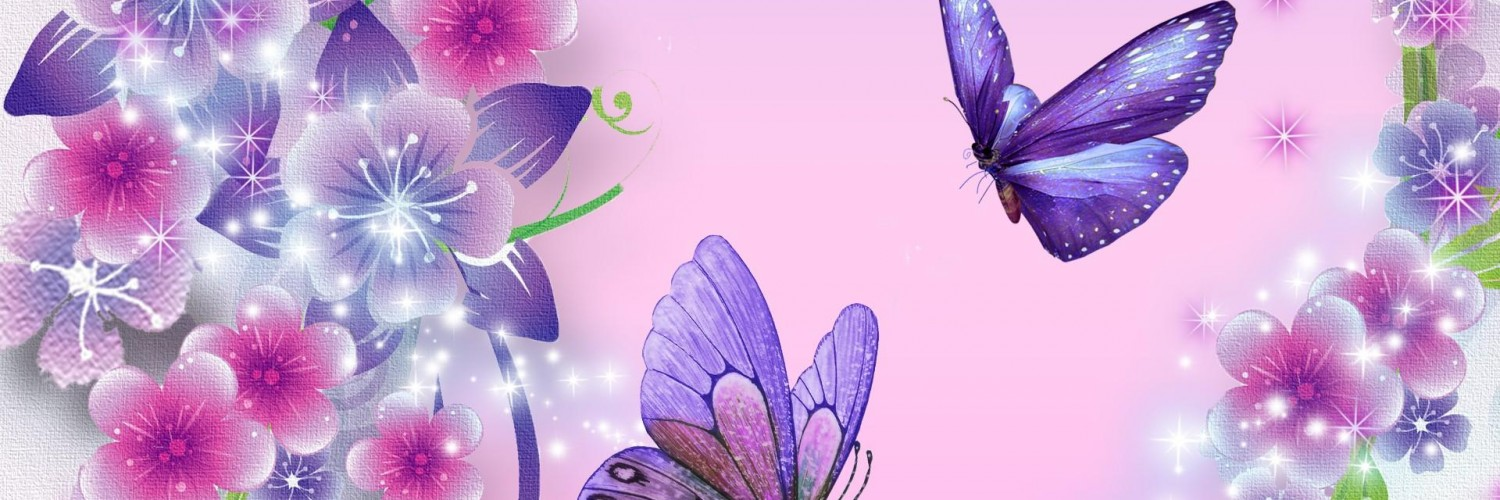 3d Fish Wallpaper Live Butterfly Wallpaper Purple Star Hd Desktop Wallpapers