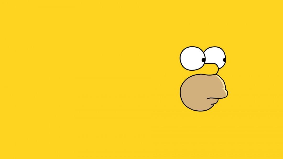 Cute Duck Hd Wallpaper Simpsons Wallpaper Yellow Hd Desktop Wallpapers 4k Hd