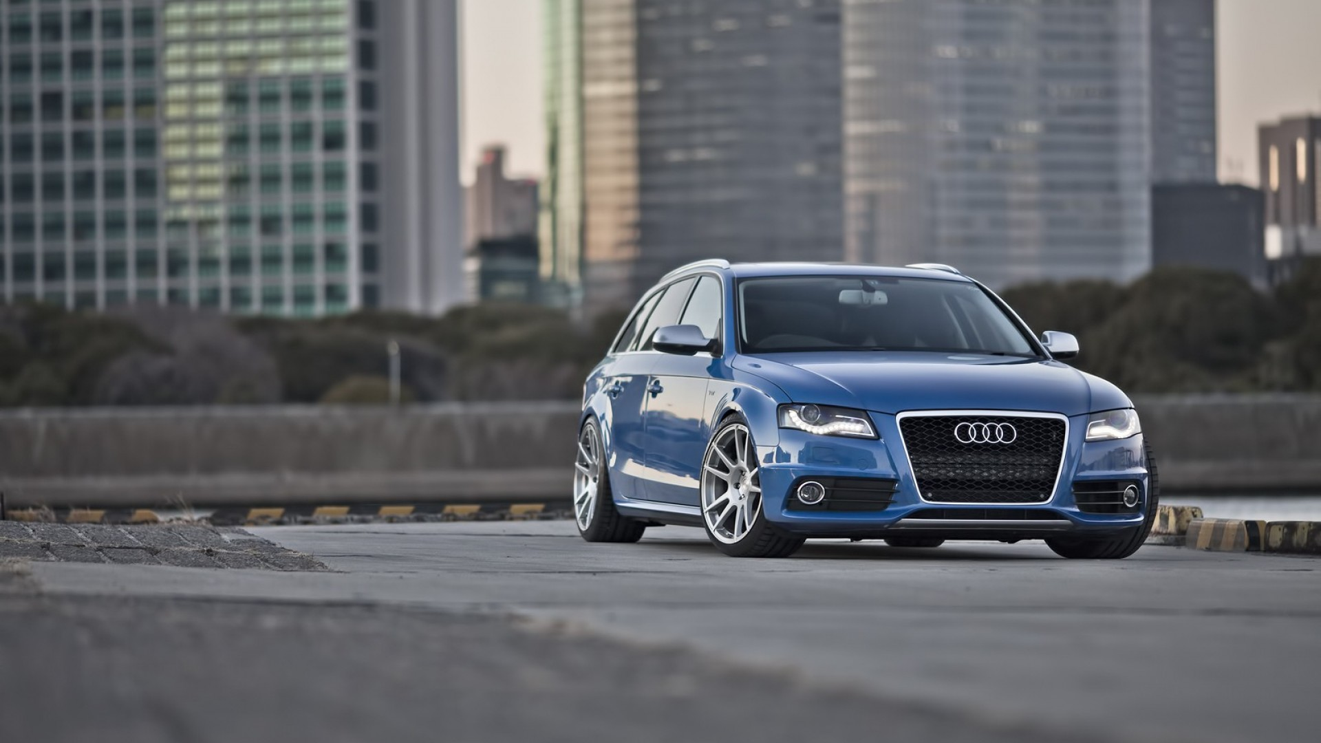 3d Car Live Wallpaper Free Download Audi S4 Blue Hd Desktop Wallpapers 4k Hd