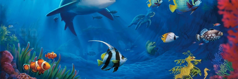 Shark Attack 3d Live Wallpaper Fish Wallpaper Underwater Download Hd Desktop Wallpapers