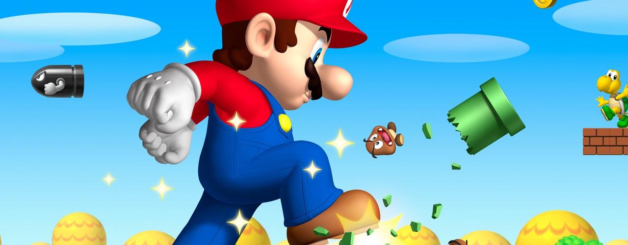 3d Wallpaper Mario Super Mario Bros Wallpaper Hd Desktop Wallpapers 4k Hd