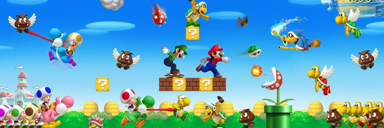 3d Effect Live Wallpapers Super Mario Wallpaper Hd Desktop Wallpapers 4k Hd