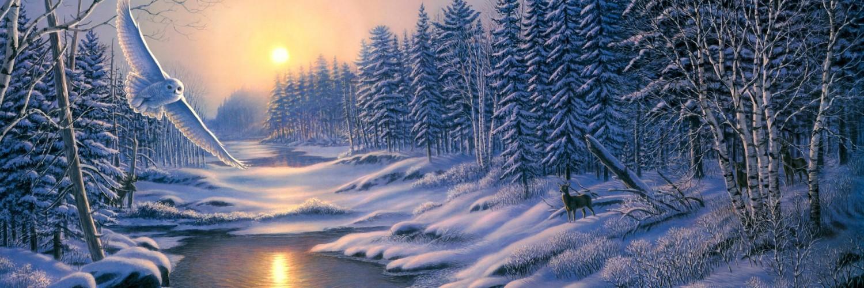 3d Wallpapers Cars Free Download Winter Landscape Wallpaper Hd Desktop Wallpapers 4k Hd
