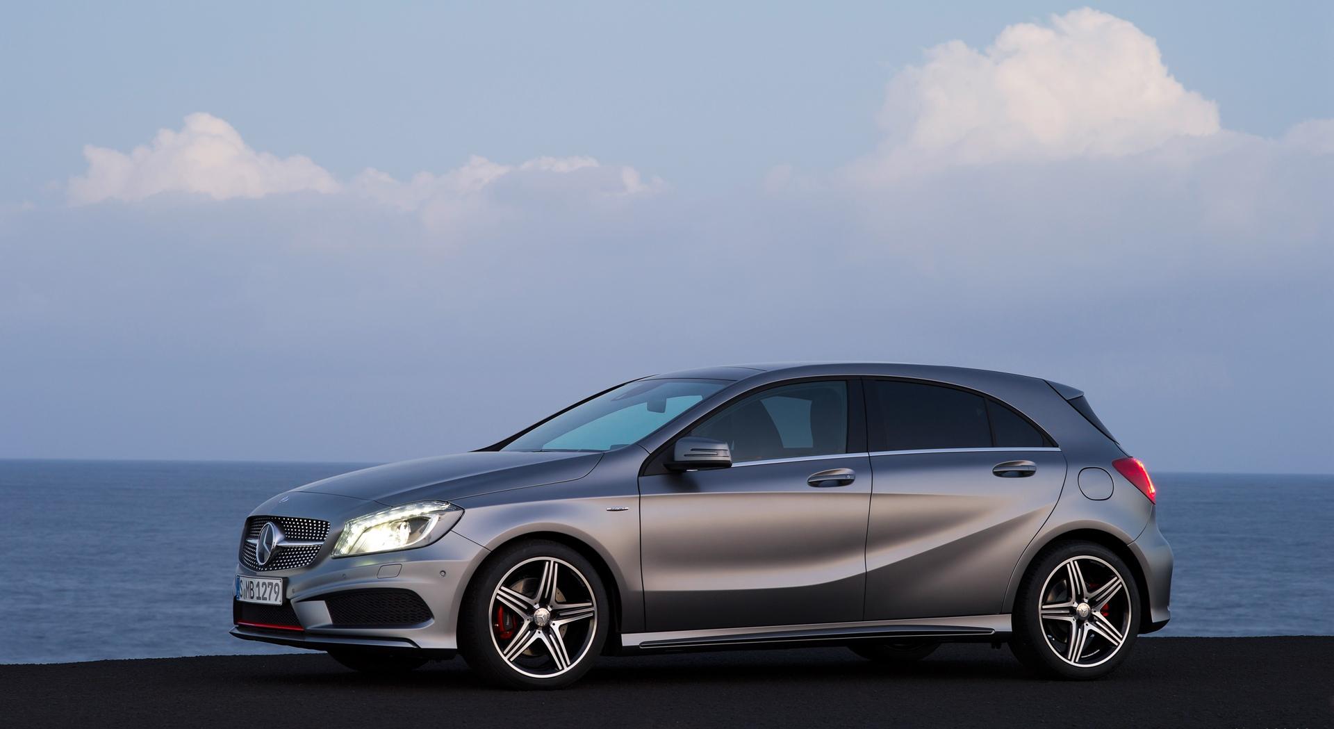 Cute Live Wallpaper Download Mercedes A Class Grey Sides Hd Desktop Wallpapers 4k Hd