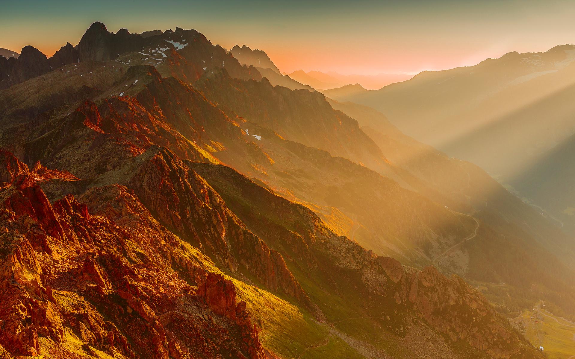 Car And Bikes Wallpapers Free Download Mountains Sunset Wallpaper Hd Hd Desktop Wallpapers 4k Hd