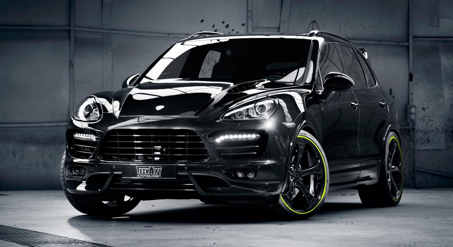 Hd Wallpaper Of Cool Cars Porsche Cayenne S Black Hd Desktop Wallpapers 4k Hd