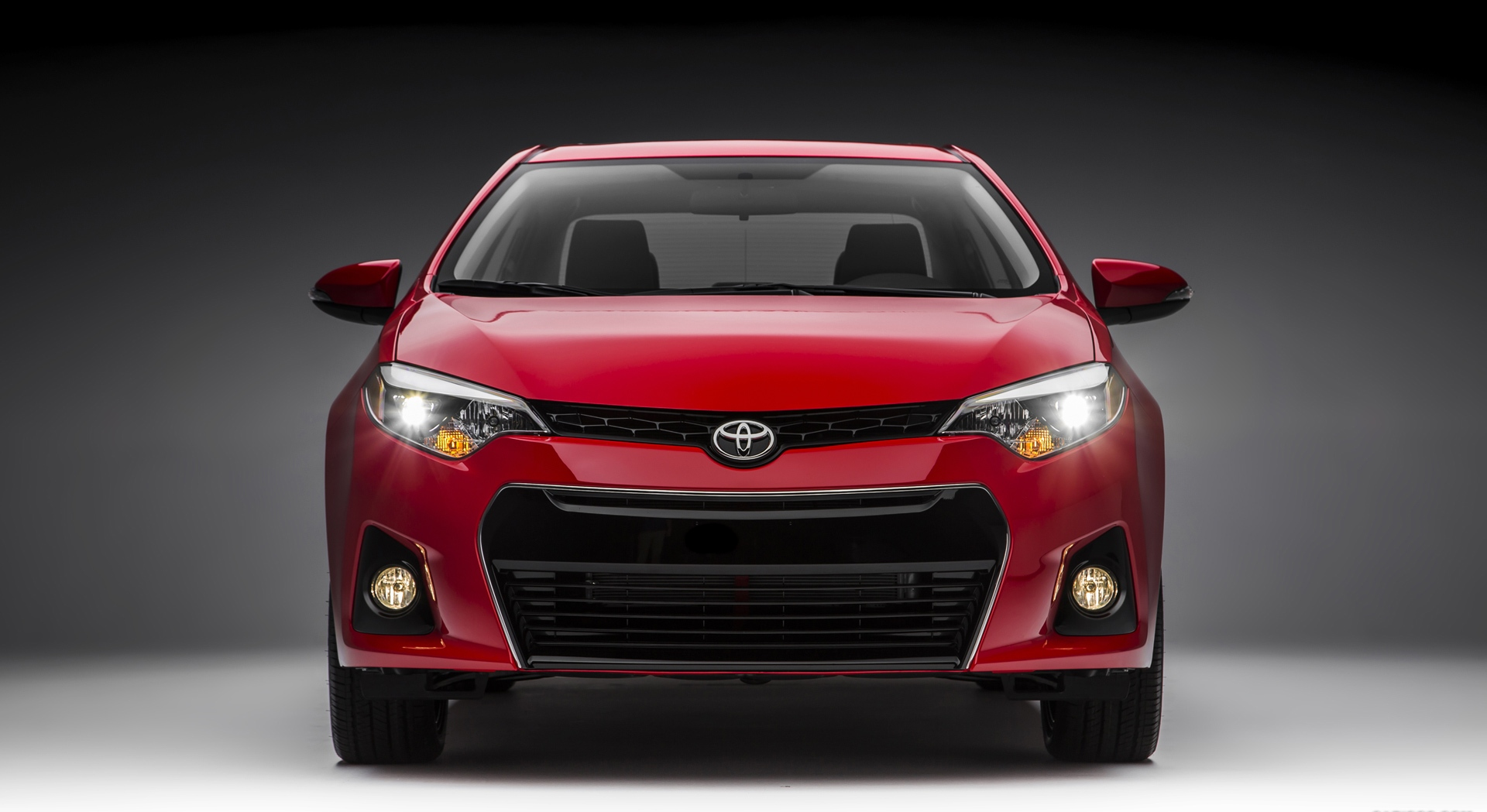 Toyota Cars Wallpapers Free Download Toyota Corolla Red Front Hd Desktop Wallpapers 4k Hd