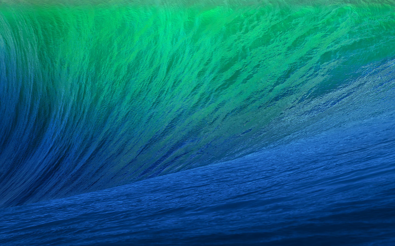 Iphone X Wallpaper 4k Live Green Blue Waves Hd Desktop Wallpapers 4k Hd