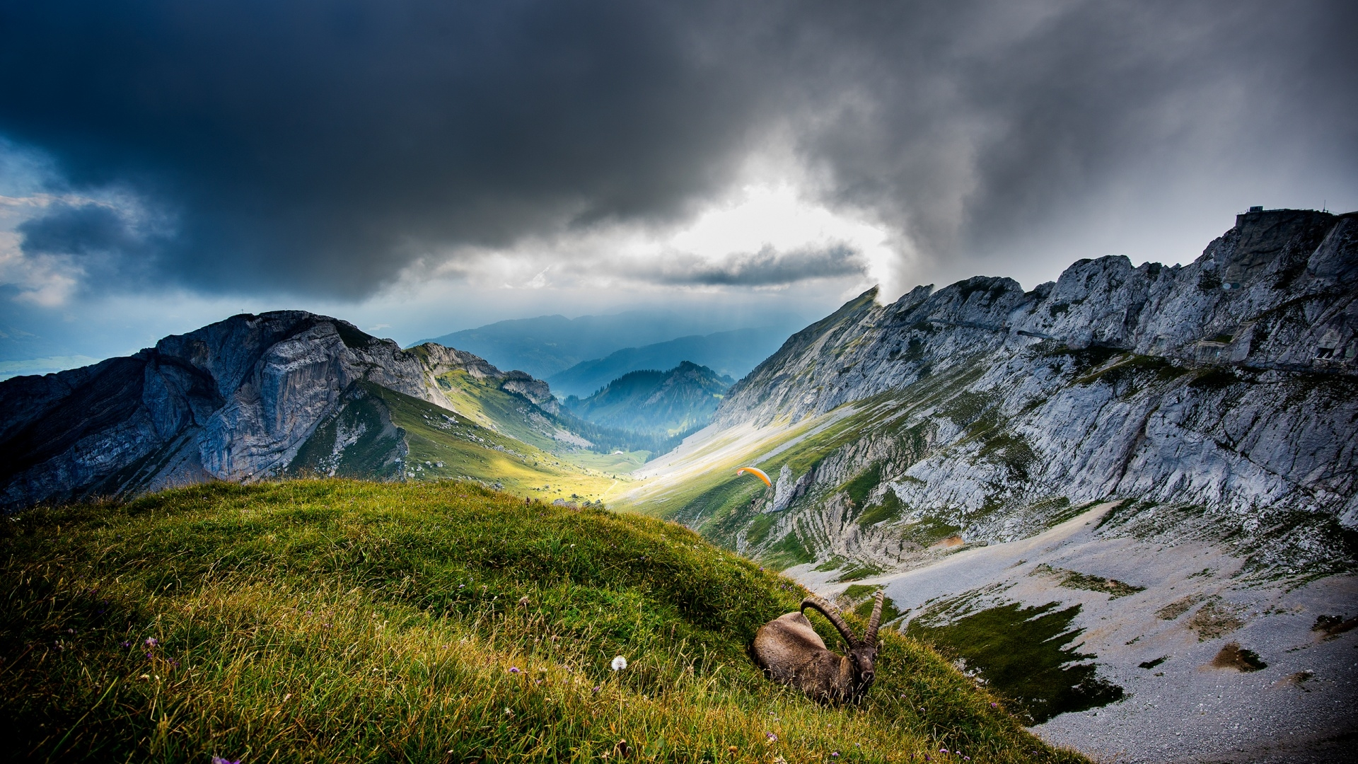 Free Falling Snow Wallpaper Mountain Background 1080p Hd Hd Desktop Wallpapers 4k Hd