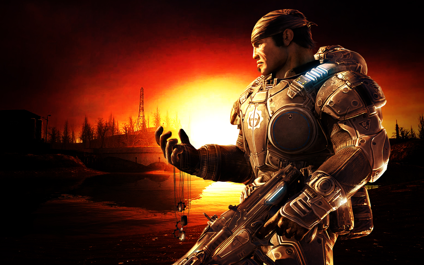 3d Wallpaper For Desktop Icon Gears Of War Wallpapers Hd Desktop Wallpapers 4k Hd