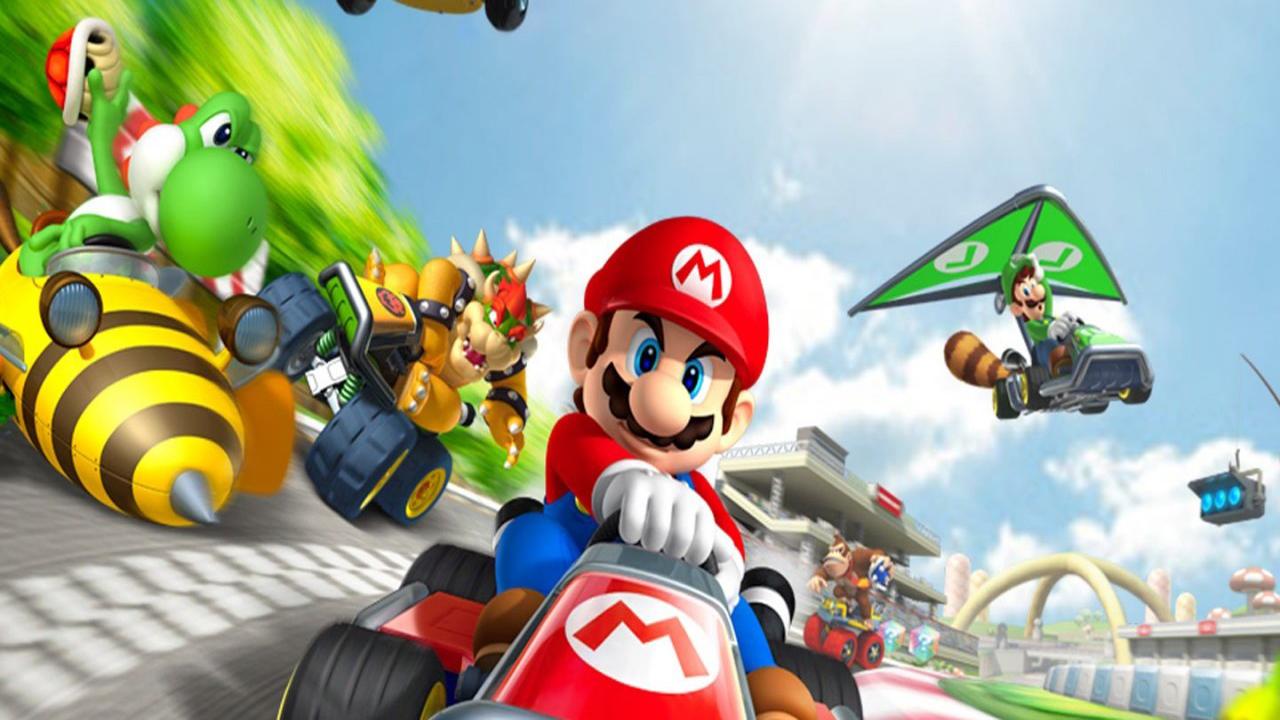 3d Wallpaper Mario Mario Kart 8 Resolution Hd Desktop Wallpapers 4k Hd