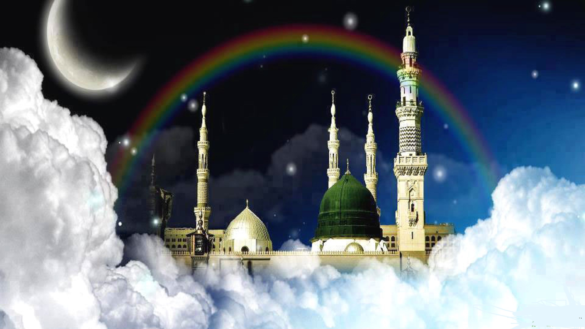 Best 3d 4k Wallpaper Very Beautiful Place Madina Shareef Wallpapers Free Hd