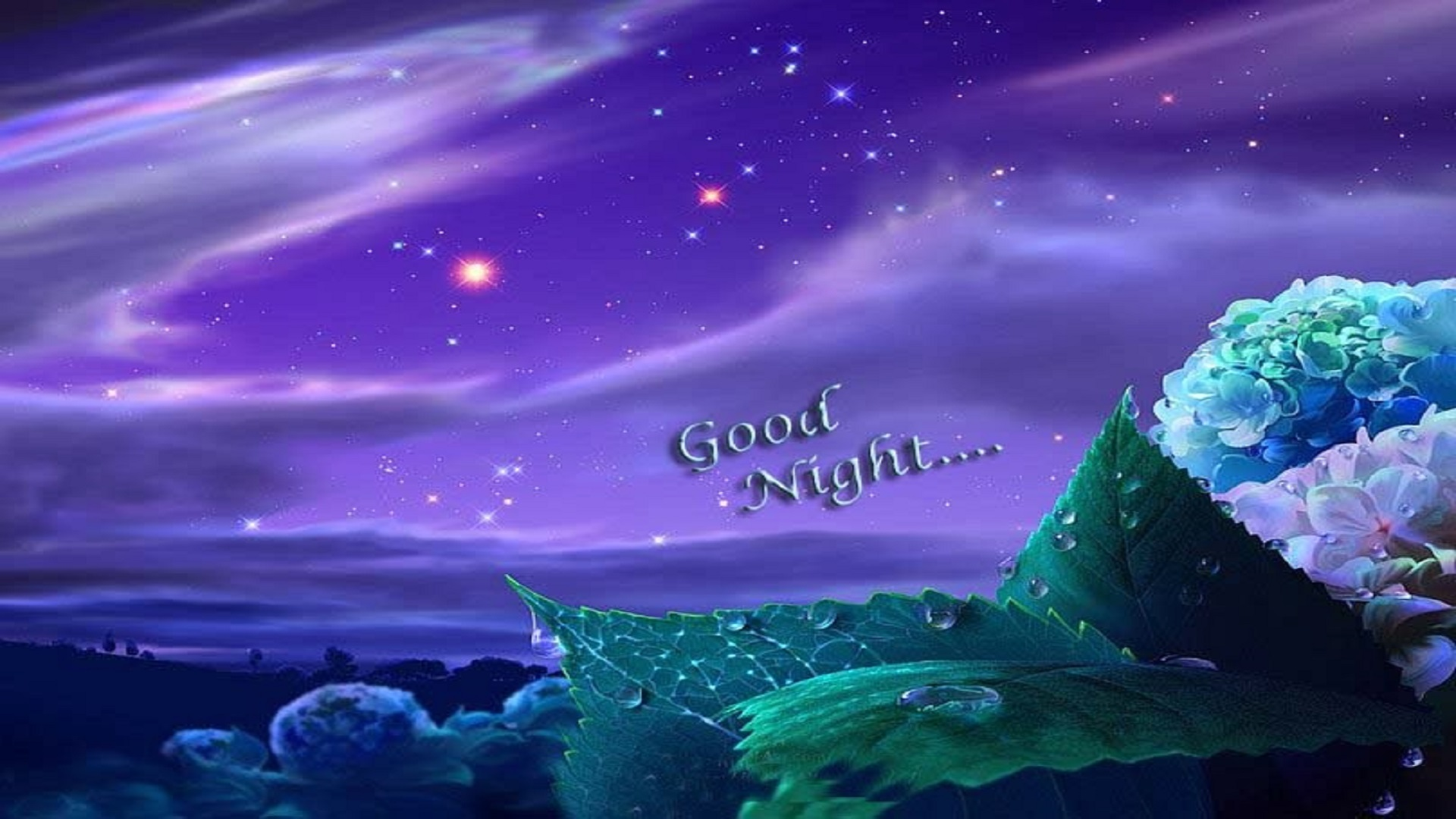 Free Animated Wallpapers For Mobile Phones Good Night Purple Sky Wallpapers Free For Desktop Hd Hd