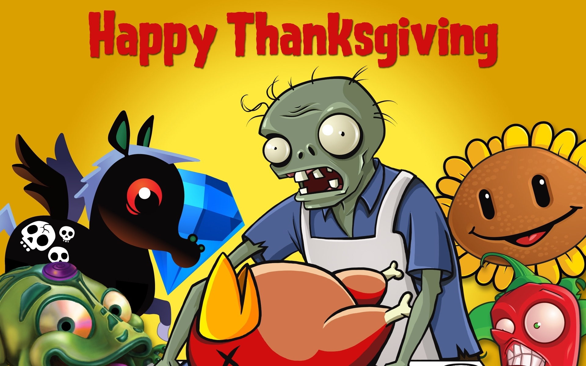 Minions Hd Wallpapers 1080p Funny Thanks Giving Day Hd Free Wallpaper