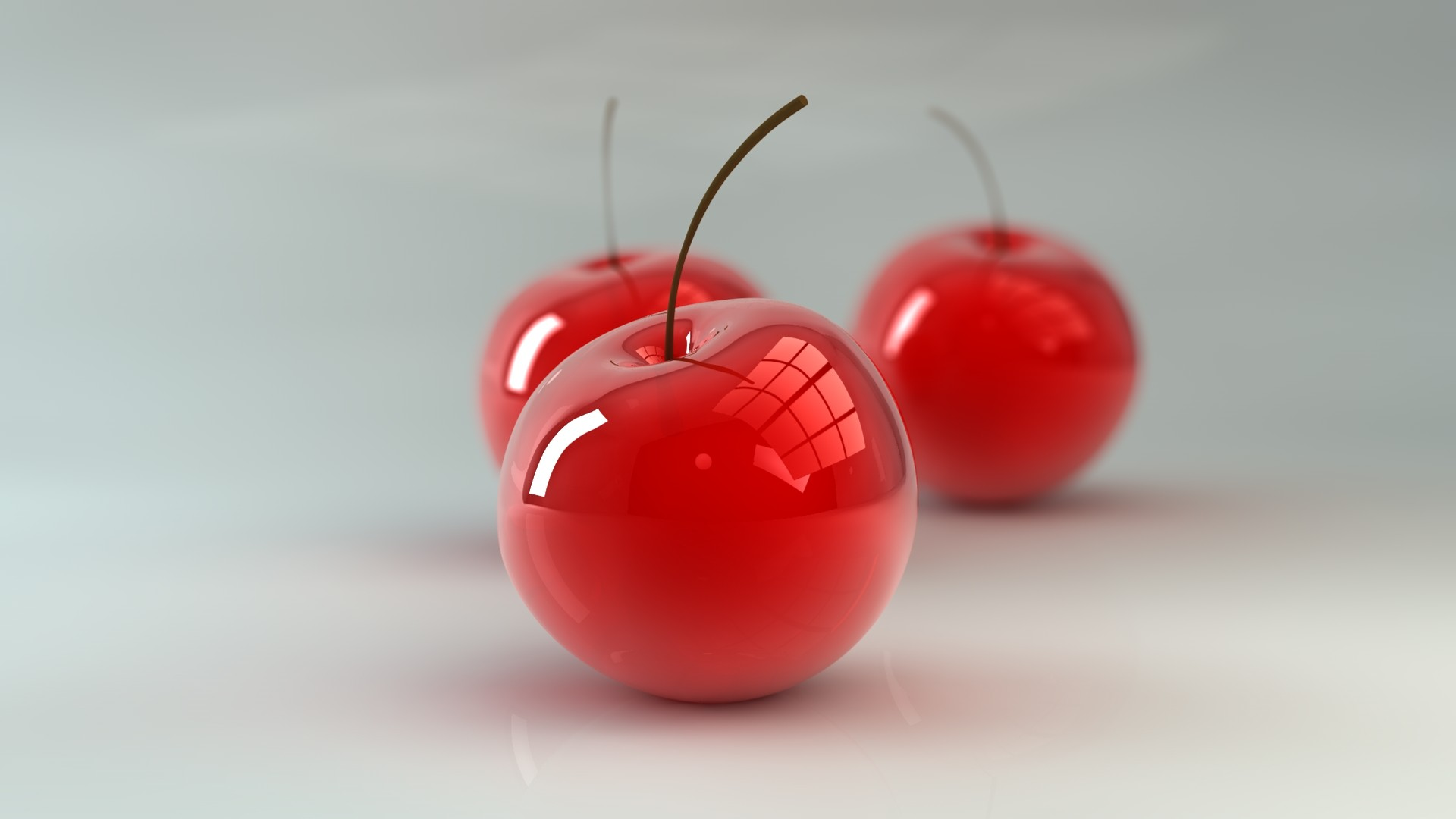 3d cool desktop wallpapers cherry download
