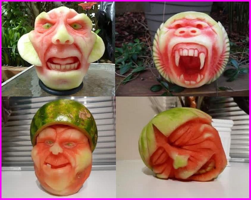 3d Gif Wallpaper For Mobile Funny Watermelon Wallpaper Hd Wallpaper