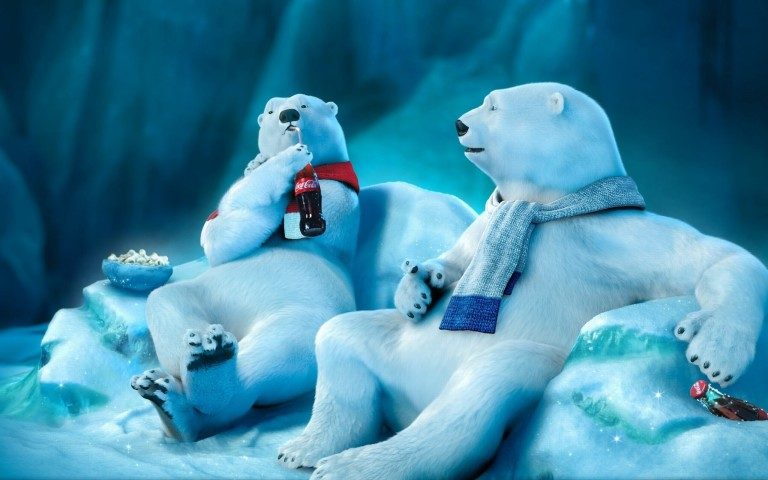 3d Wallpapers Abstract Desktop Backgrounds Coca Cola Bear Funny Wallpaper Collection Hd Wallpaper