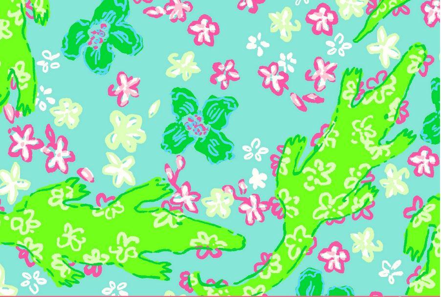 Funny Wallpapers For Desktop Hd Lilly Pulitzer Gator Wallpaper Hd Wallpaper