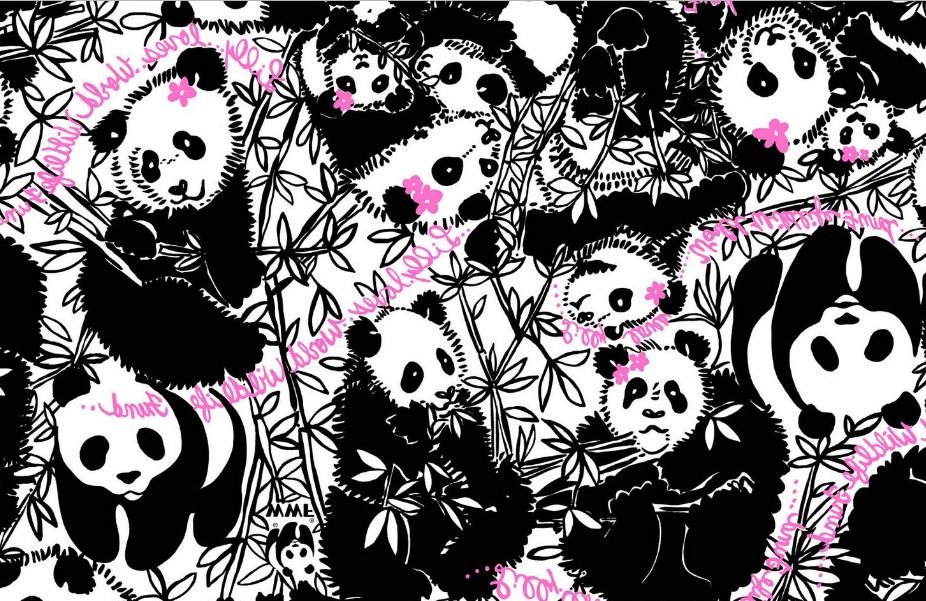 Cute And Girly Desktop Wallpapers Lilly Pulitzer Panda Wallpaper Hd Wallpaper