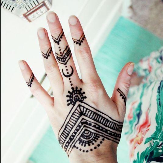 Heena 3d Wallpaper Simple Henna Tattoo Designs Hd Wallpaper