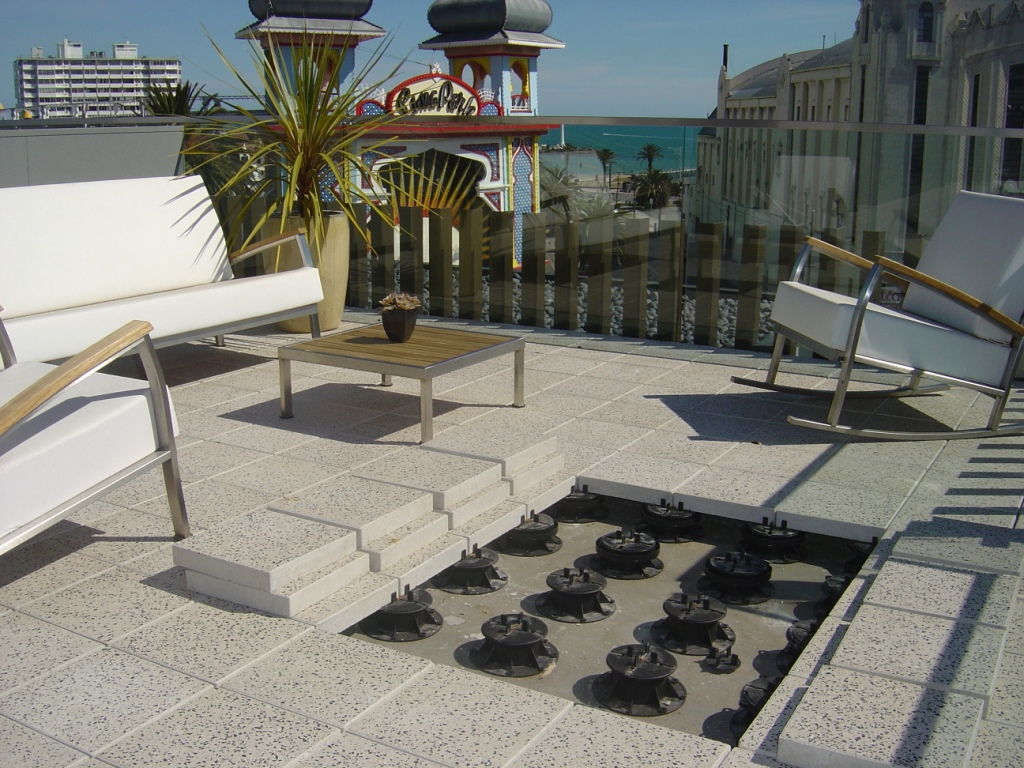 Amenagement Terrasse En Hauteur Concrete Pavers - Hdg Building Materials