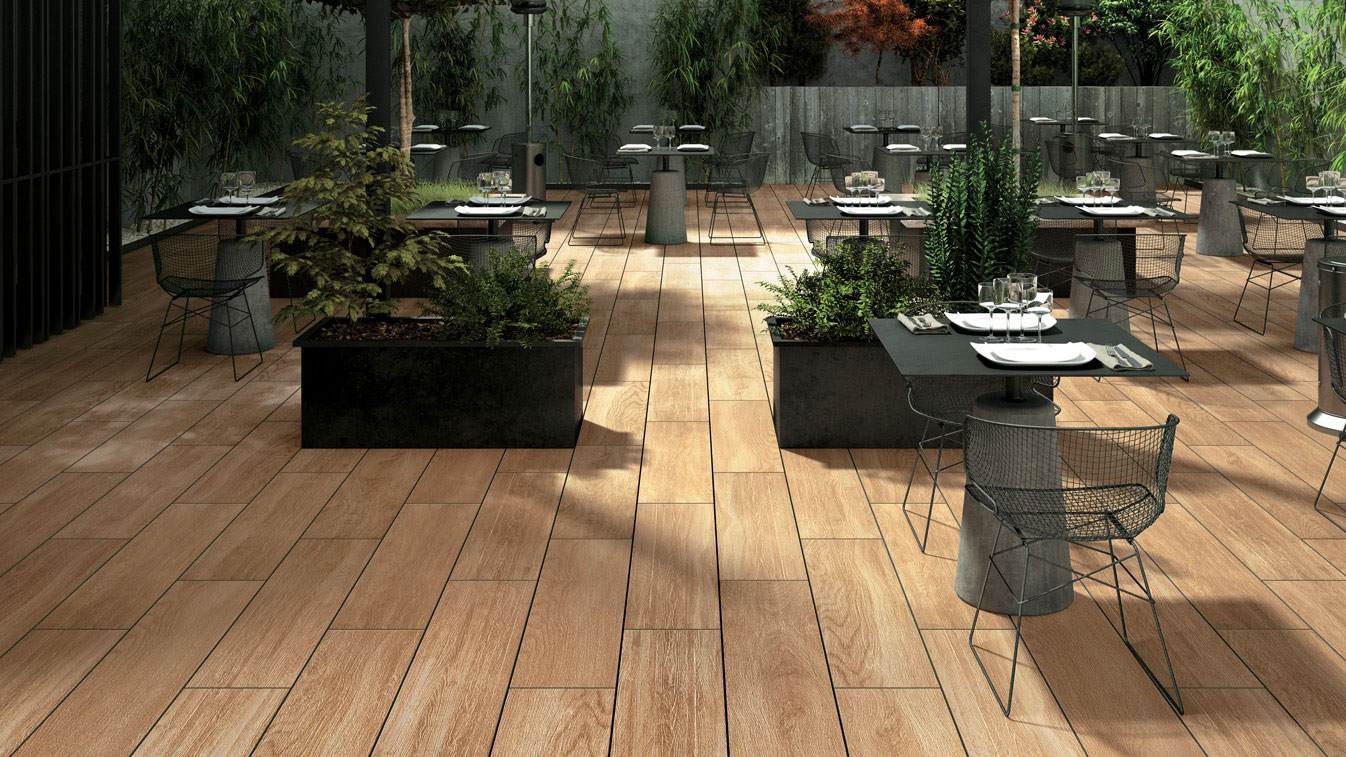 Patio In Legno Hdg Legno Wood Finish Pavers Havana 04 Hdg Building Materials