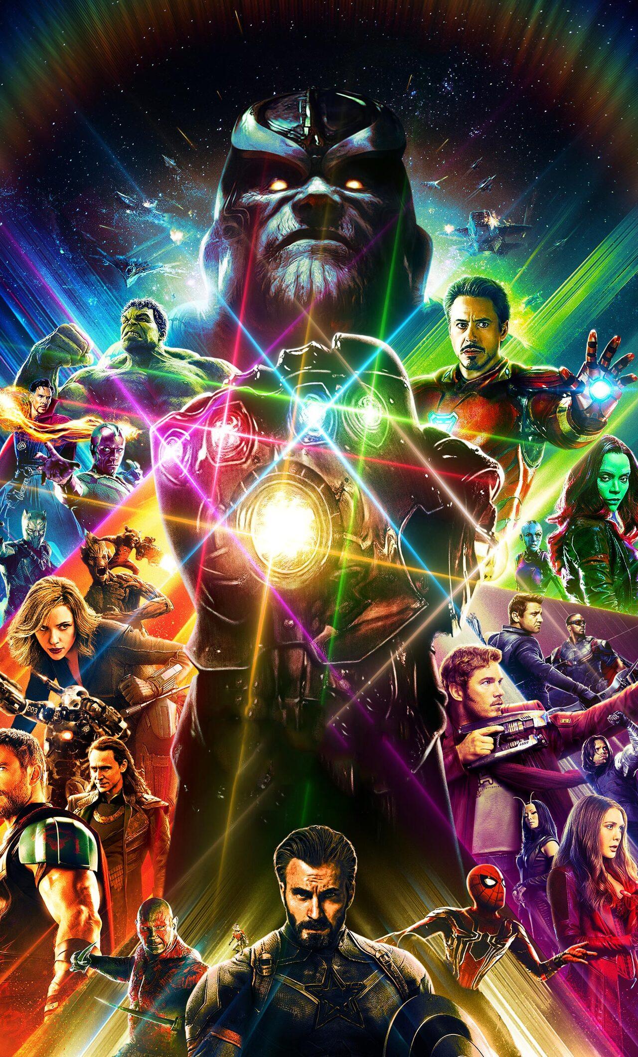 Lego Star Wars Iphone Wallpaper 1280x2120 Avengers Infinity War Artwork 2018 Iphone 6 Hd
