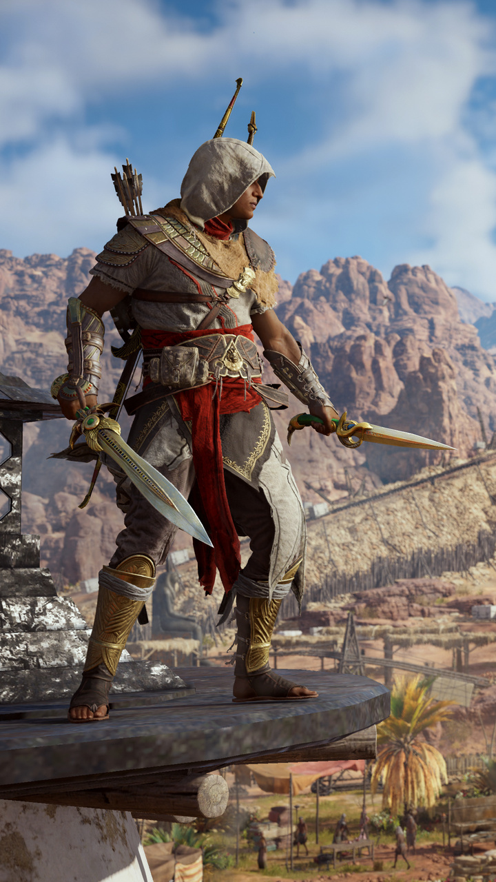800x1280 Wallpaper Hd 720x1280 Bayek Of Siwa Assassins Creed Origins Moto G X