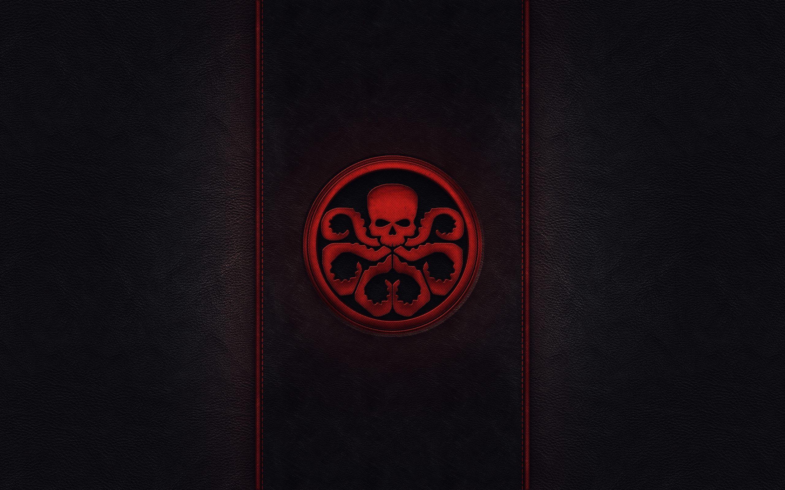 Marvel Superheroes 3d Wallpapers Captain America Hydra Minimalism Hd Superheroes 4k
