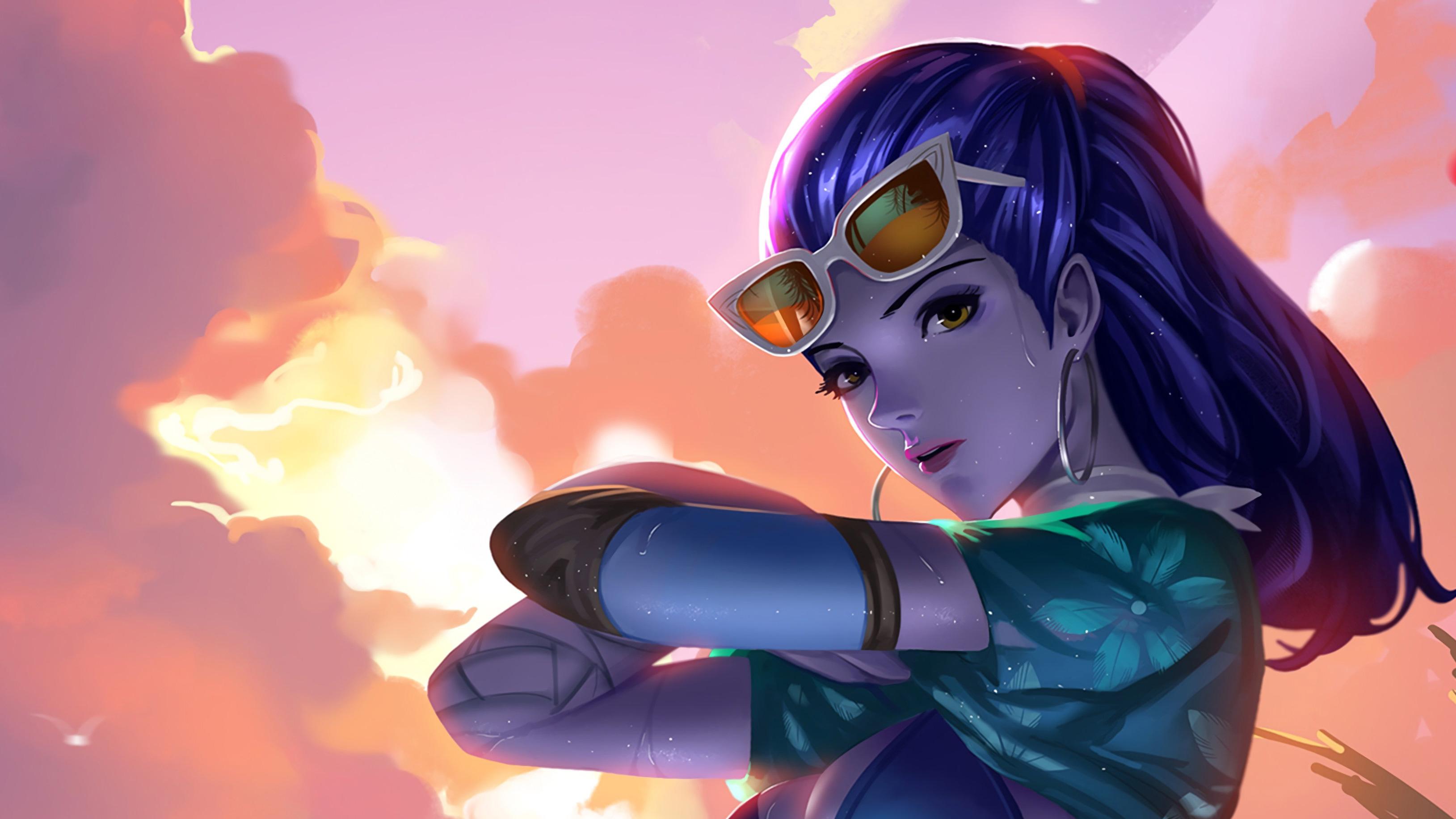 Cool Girls Overwatch Wallpapers Cote Dazur Widowmaker Overwatch Artwork 4k Hd Games 4k