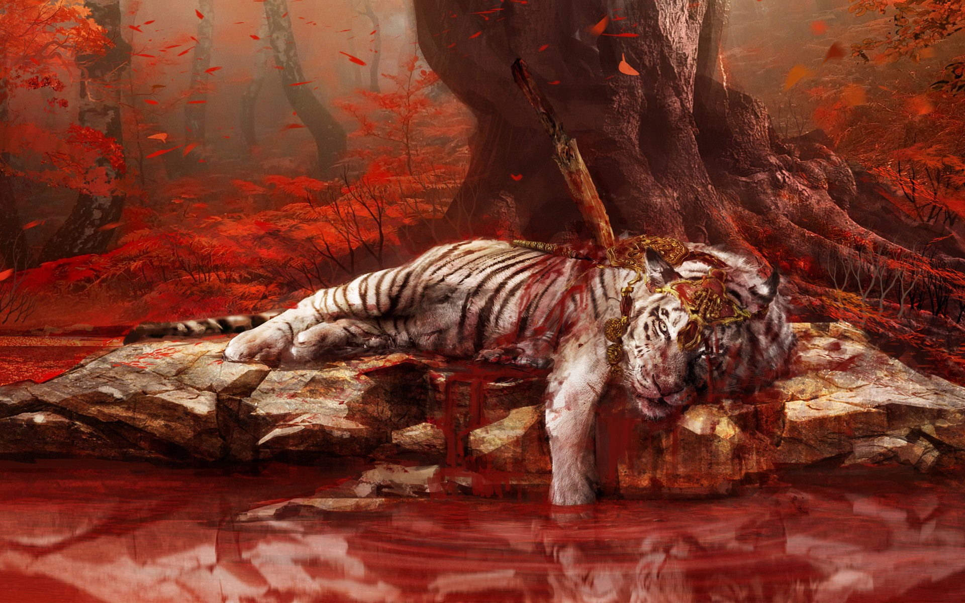 Cute Bengal Wallpapers Hd 1366x768 Dead Tiger In Far Cry 4 Hd Games 4k Wallpapers Images