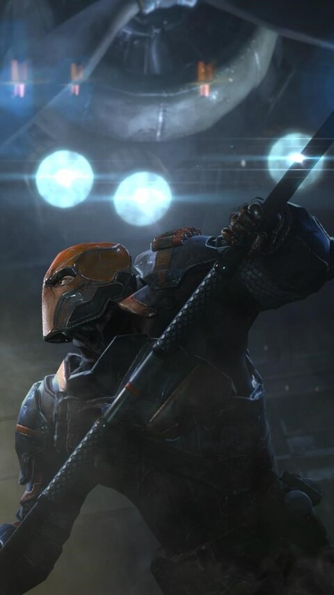 Girls Wallpapers 480x800 480x854 Deathstroke Vs Batman Android One Hd 4k Wallpapers