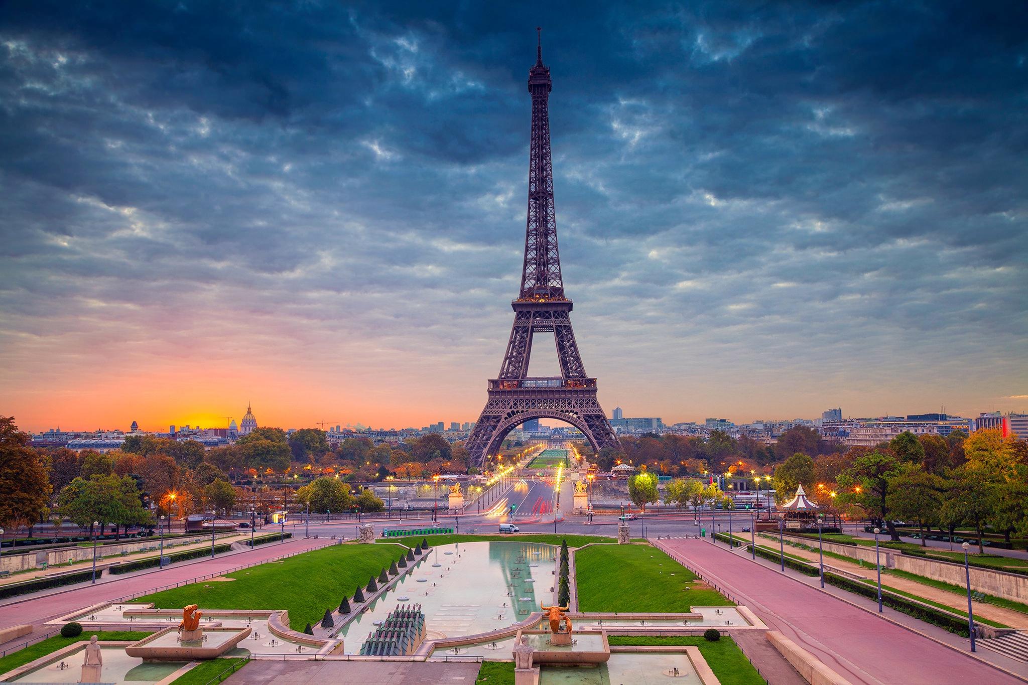 Download Wallpaper Paris Cute 1920x1080 Eiffel Tower Paris Beautiful View Laptop Full Hd