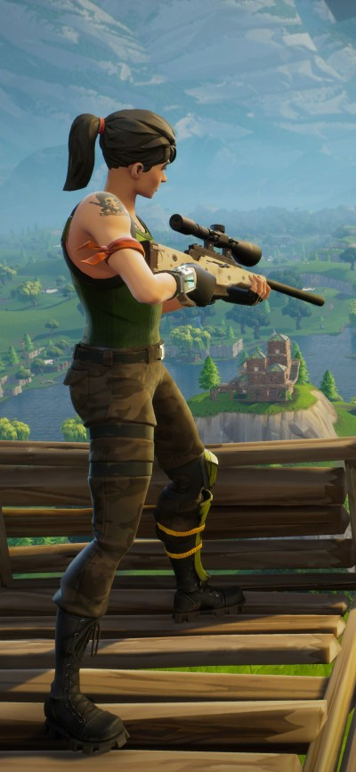 1125x2436 Fortnite Sniper 8k Iphone XS,Iphone 10,Iphone X HD 4k Wallpapers, Images, Backgrounds ...