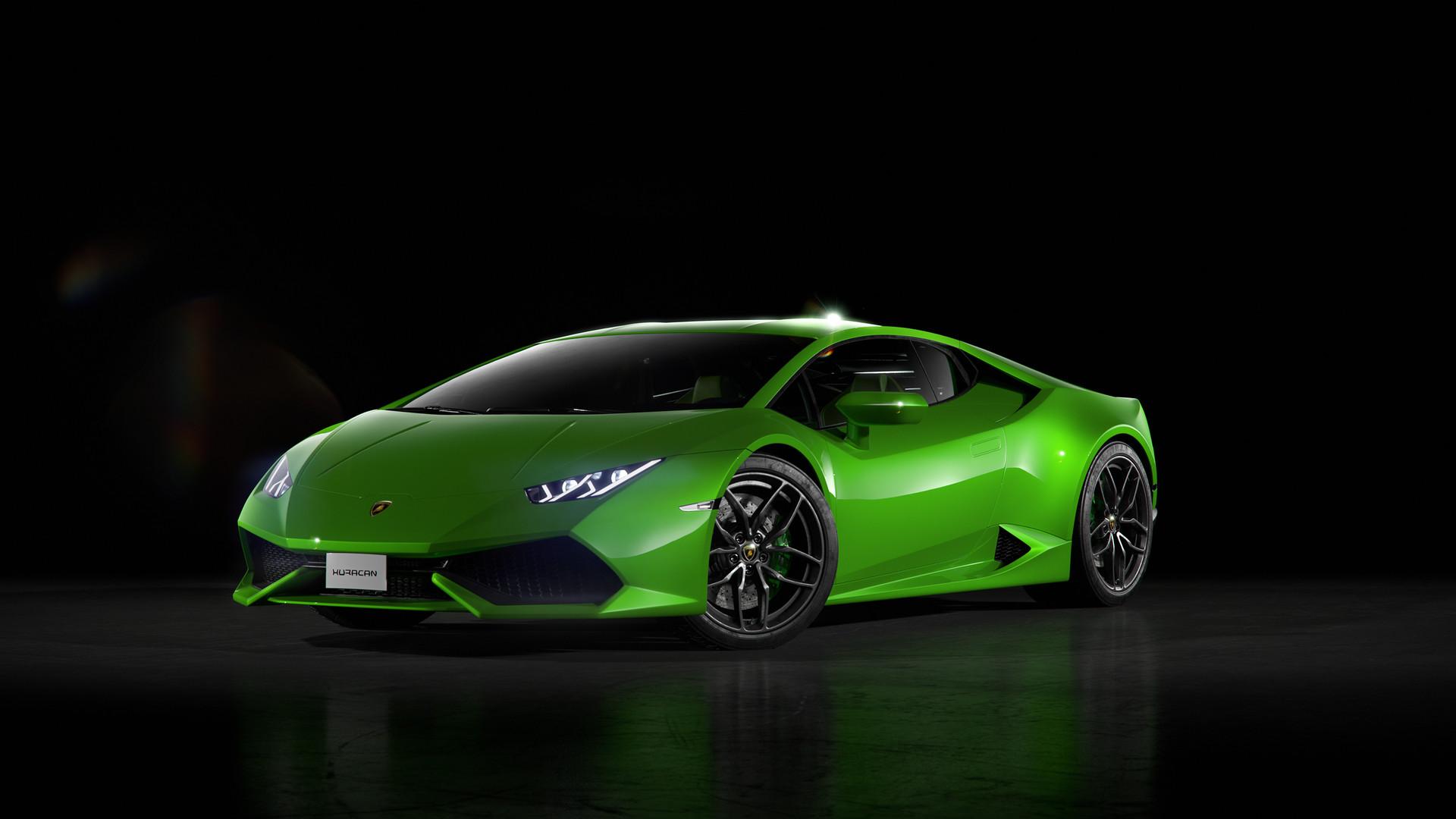 Sports Car Wallpaper Lamborghini 3d 3840x2160 Green Lamborghini Huracan Front 4k Hd 4k
