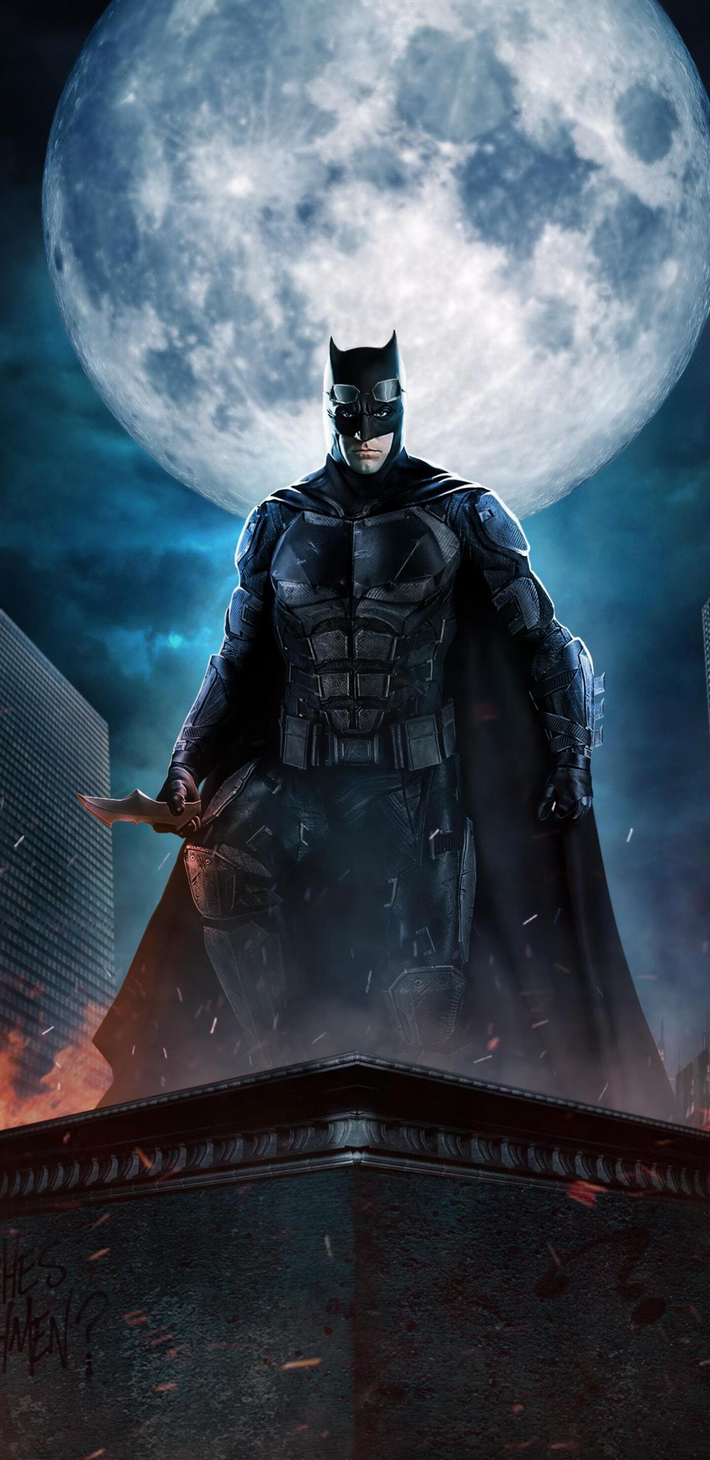 Wallpaper 4k Samsung Galaxy S8 Girls 1440x2960 Justice League Batman The Dark Knight Fan Art