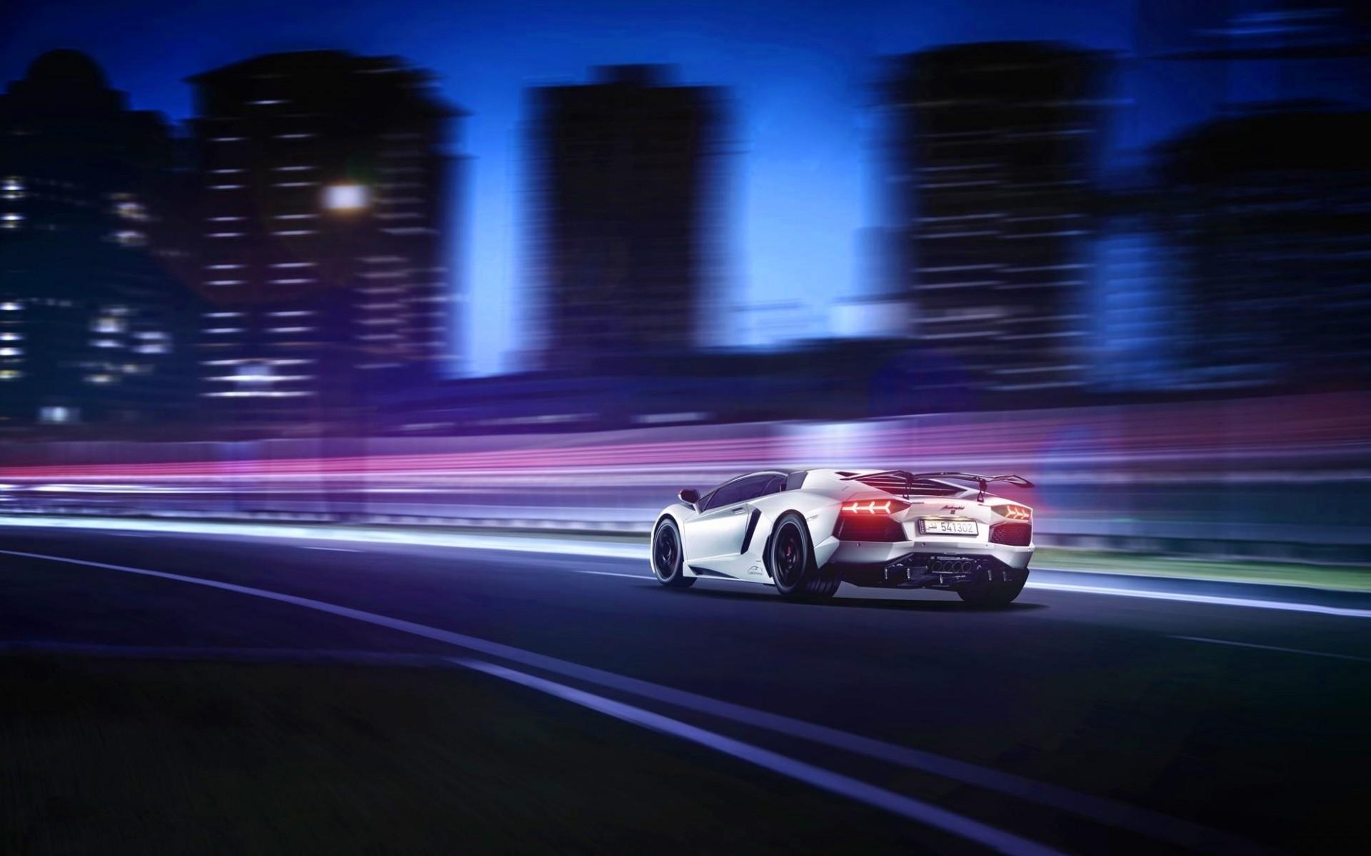 Vaporwave Iphone Wallpaper Lamborghini Aventador Motion Blur Hd Cars 4k Wallpapers