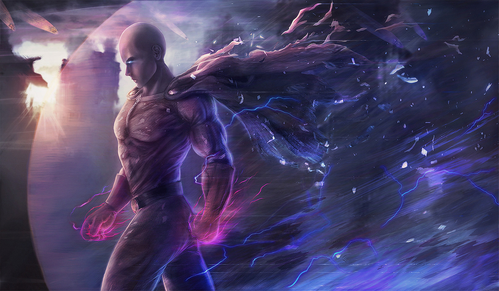 Wallpaper Wide Hd Girl Saitama One Punch Man Hd Anime 4k Wallpapers Images