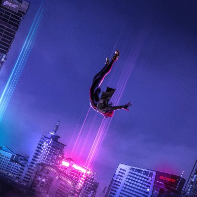 2048x2048 SpiderMan Into The Spider Verse Art Ipad Air HD 4k Wallpapers, Images, Backgrounds ...