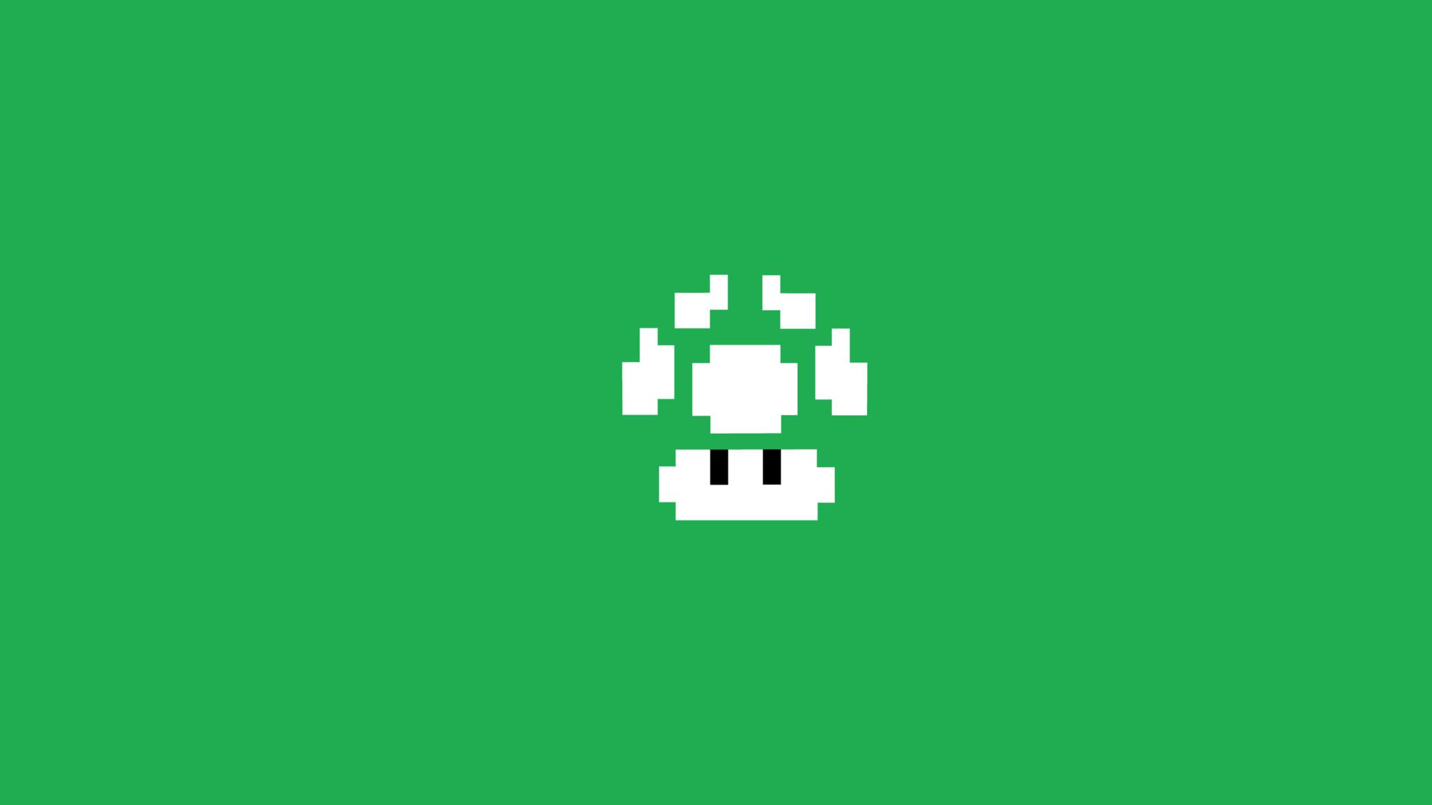Wallpaper 3d Mario Bros 2048x1152 Super Mario Bros Minimalism 2048x1152 Resolution