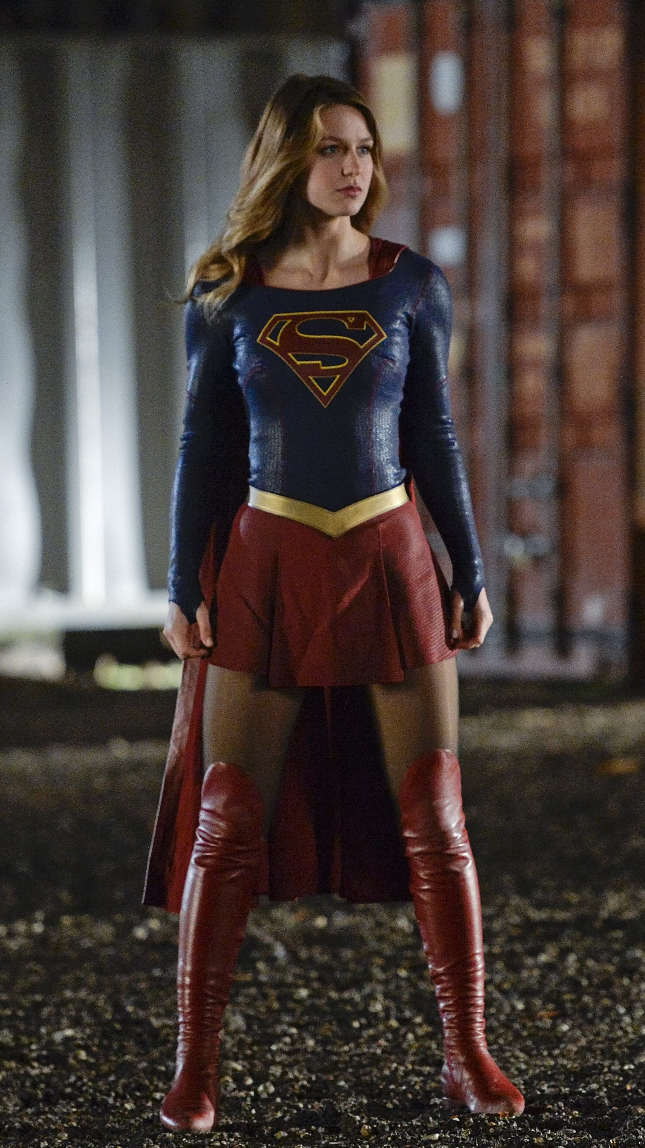 1080x1920 3d Wallpaper 2160x3840 Supergirl Season 3 2018 Sony Xperia X Xz Z5