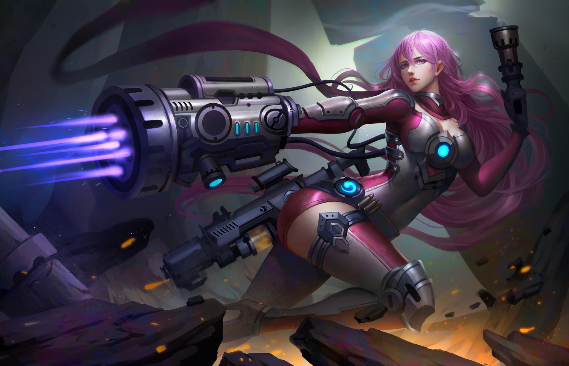 1400x900 Girl Wallpaper Warrior Fantasy Girl Futuristic Hd Fantasy Girls 4k
