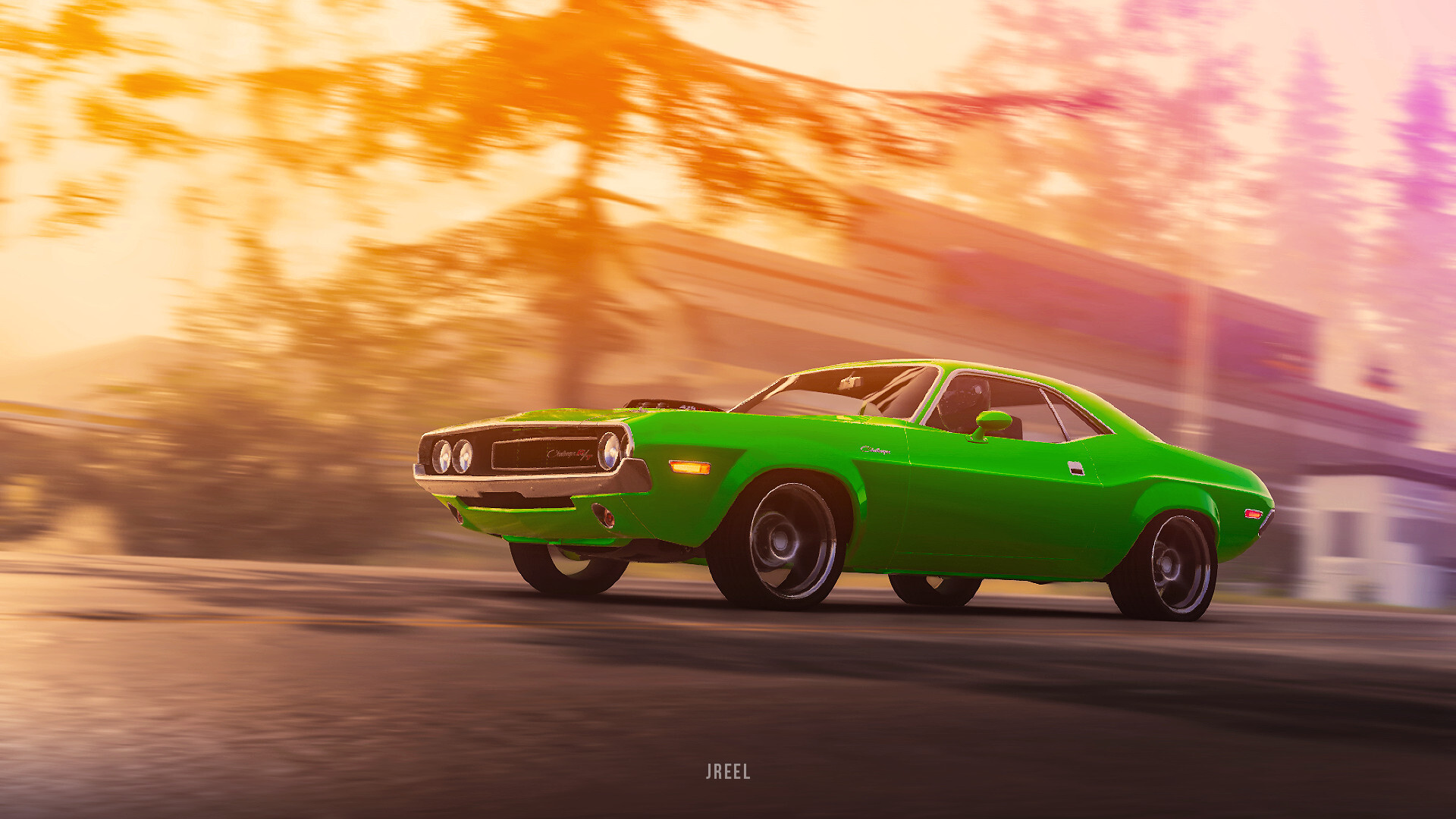 Dodge Challenger 1970 Wallpaper 1920x1080 1970 Dodge Challenger Rt From The Crew 2 Front Laptop