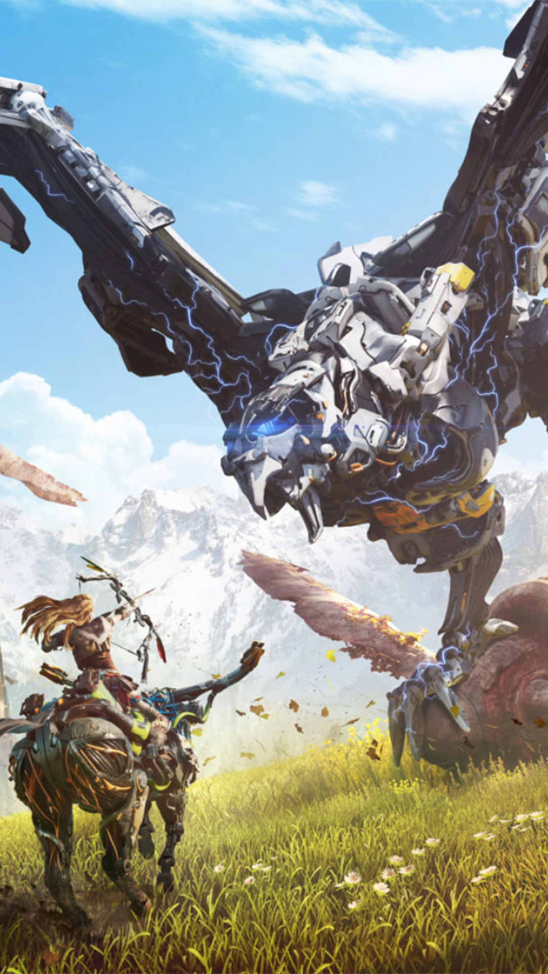 3d Wallpaper 800x1280 1080x1920 2016 Horizon Zero Dawn Iphone 7 6s 6 Plus Pixel